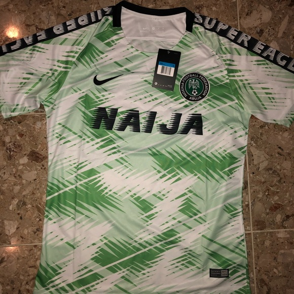 best value 9a2ec 1c225 Nigeria Supereagles World Cup Training kit Jersey NWT